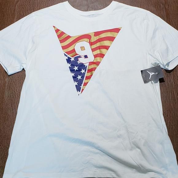 d63b0d9e1435 Jordan T Shirt. NWT. Jordan. M 5be0b7376197454ac43a51ef.  M 5be0b748c89e1d52790e6b46. M 5be0b7586a0bb7989859dcd1